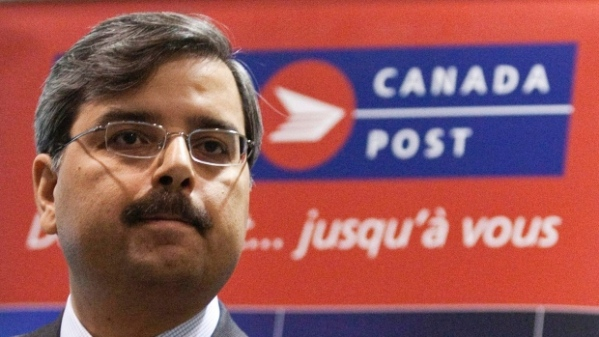 Stepping Stones believes that Canada Post CEO Deepak Chopra should be fired.